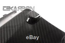 2014 2016 Kawasaki Z1000 Fibre De Carbone Under Tail Fairing 2x2 Sergé Tisse
