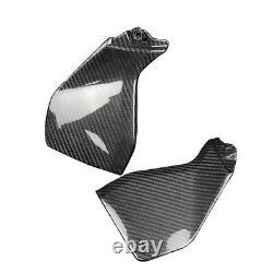 2014-2016 Yamaha Fz-09 Mt-09 Carbon Fiber Side Tank Covers Panels Twill 100%