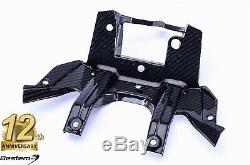 2014-2019 S1000r Fibre De Carbone Instrument Panel Dash Porte-gauge Weave Sergé