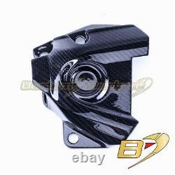 2014-2019 Yamaha Fz-09 Mt-09 Fj-09 Xsr900 Fibre De Carbone Sprocket Cover Twill