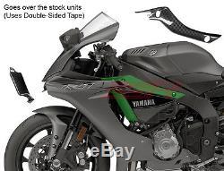 2015 2016 Yamaha R1 R1m R1s Cadre Latéral Panneau De Carénage Couverture Serre Fibre De Carbone