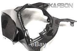 2015 2017 Kawasaki Ninja H2 Carbon Fiber Tail Carénage 2x2 Sergé Tisse