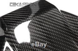 2015 2017 Kawasaki Ninja H2 En Fibre De Carbone Cowl Siège V2 2x2 Twill Weaves