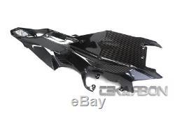 2015 2017 Yamaha Yzf R1 Carbone Fibre Sous La Queue Carénage 2x2 Twill Tisse