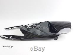 2015-2018 Bmw S1000rr S1000r Fiber De Carbone Sous-queue Taud De Capot Sergé