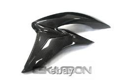 2015 2018 Suzuki Gsx-s1000 Fibre De Carbone Large Side Careings 2x2 Twill Tissage