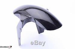 2015-2019 Bmw S1000xr 100% Fibre De Carbone Garde-boue Avant Boue Garde Weave Sergé