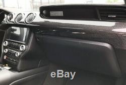2015-2019 Ford Mustang Dash En Fibre De Carbone Droite Lunette Oem Fabriqué Sur Commande