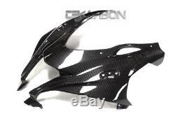 2016 2017 Kawasaki Zx10r Carbon Fiber Avant Carénage 2x2 Twill Tisse