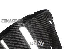 2016 2017 Kawasaki Zx10r Carbon Fiber Nose Carénage 2x2 Twill Tisse