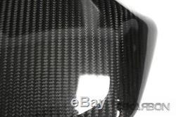 2016 2017 Kawasaki Zx10r Siège De Capot En Fiber De Carbone 2x2 Twill Armure