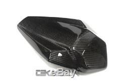 2016 2019 Kawasaki Zx10r Auvent En Fibre De Carbone V2 2x2 Twill Tisse