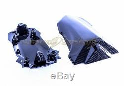 2020+ Bmw S1000rr Carbon Fiber Seat Cover Twill Weave Motif