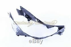 2020+ Bmw S1000rr En Fibre De Carbone Panneau Avant Radiateur, Twill Weave Motif
