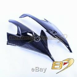 2020+ Bmw S1000rr En Fibre De Carbone Panneaux Latéraux Carénage, Twill Weave Motif