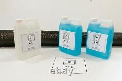 3 Yrd Fibre De Carbone Fast Epoxy Uv Résine Kit 96oz = 3/4 Gallon 2x2 Twill