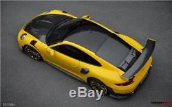 Aileron De Spoiler En Fibre De Carbone De Style Darwinpro Carrera 911 991.2 Gt2rs Avec Coffre