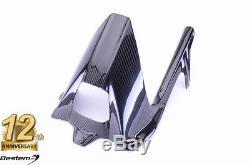 Bmw S1000r 2014 2016 100% Fibre De Carbone Arrière Hugger Chain Twill