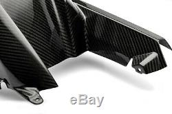 Bmw S1000rr 2019-2020 Carbon Arrière Hugger Twill Gloss 100% Carbone Autoclaves