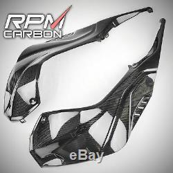 Bmw S1000rr 2019+ En Fibre De Carbone Réservoir Panneaux Lustrés Twill Carbone RPM