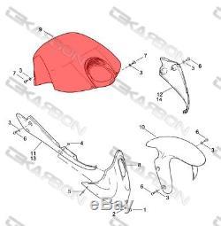 Buell Xb En Fiber De Carbone Couvercle 2x2 Tissage En Sergé