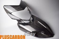 Carénage Avant Carénage Ducati Hypermotard 821 939 Twill Fibre De Carbone Brillant
