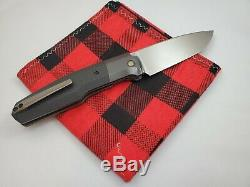 Couteau Personnalisée En Usine Fif23 Sergé En Fibre De Carbone Zirc Couteau