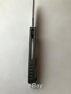 Couteaux Shirogorov F3r Vanax 37 Silver Twill Cf Mrbs