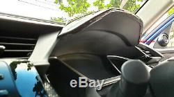 Couverture De Capot De Tableau De Bord En Fibre De Carbone Twill 3d Brillante Pour 16-19 CIVIC Fc Fk Rhd Uniquement