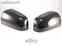Couvertures De Couverture De Miroir De Fibre De Carbone De Mitsubishi Lancer Evo10 Evo X