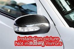 Couvertures De Miroir De Fibre De Carbone De Mercedes Benz W211 E55 W203 Amg E