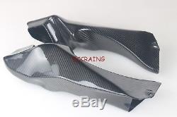 Ducati 748 916 996 998 Twill Tuyau D'évent En Fibre De Carbone Sans Trous D'indication