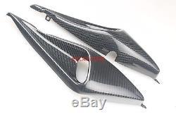 Ducati Monster M900 / M750 / M600 / M400 Twill Entrées D'air En Fibre De Carbone