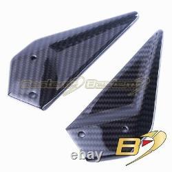 Ebr Rx Sx 1190 En Fibre De Carbone Rearset Heel Plaques Guards, Twill, 100%
