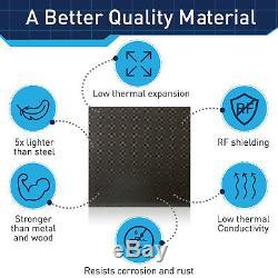 Épaisse Plaque En Fibre De Carbone 100% Feuille Espace Année 12x12 Panel Made In USA