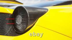 Feu Arrière En Fibre De Carbone Couvre 2x2 Twill Weave Pour Ferrari 458