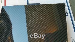 Feuille De Panneau De Fibre De Verre De Fibre De Carbone 12 × 72 × 1/4 Brillant D'un Côté 4x4 Sergé