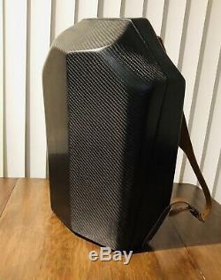 Fibre De Carbone D'armure De Sergé De Véritable 5.6oz De Sac À Dos De Fibre De Carbone Avec Le Kevlar