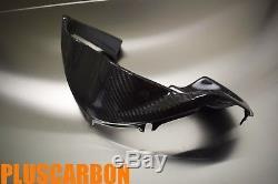 Fit Pour Bmw R 1100 S / Boxer Cup Tableau De Bord En Sergé De Fibre De Carbone Finition Brillante