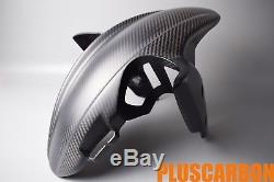 Garde-boue Avant Ducati Hypermotard Hyperstrada 821 939 Twill Carbon Fiber Mat