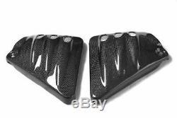 Harley Davidson En Fibre De Carbone V Rod Inserts Latéraux V Modèles Éventé Pour Rod Vrsca, V