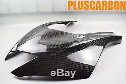 Haute-carénage Yamaha R6 2017-2020 Sergé En Fibre De Carbone Nassau Brillant