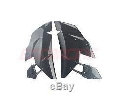 Kawasaki Ninja H2 2015+ Panneaux Latéraux En Fibre De Carbone Twill