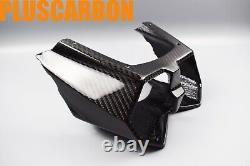 Kawasaki Ninja H2 Sx Se Twill Carbon Fiber Tail Light Cover Glossy