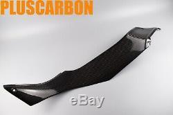 Kawasaki Ninja H2 Sx Se Twill Fibre De Carbone Sous Des Couvertures Côté Réservoir Set Brillant