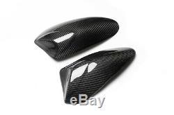 Kawasaki Zx-10r 2011-2020 Fibre De Carbone Réservoir Sliders Protecteurs En Twill Gloss