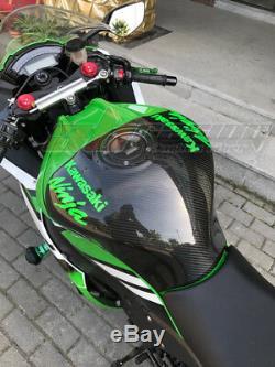 Kawasaki Zx10r 2011-2015 2016 2017 2018 Couverture Réservoir Arrière 100% Fibre De Carbone Sergé