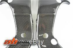 Kawasaki Zx10r 2011-2015 Cadre Heat Shield Cover En Fibre De Carbone 100% Sergé