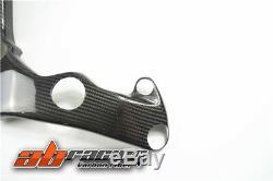 Kawasaki Zx10r 2016 2017 2018 2019 Cadre De Chaleur Sheild Couverture Carbone Fiber100% Sergé