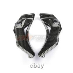 Kawasaki Zx10r Front Fairing Inner Kits Cover 2016 2019 Fibre De Carbone 100%twill